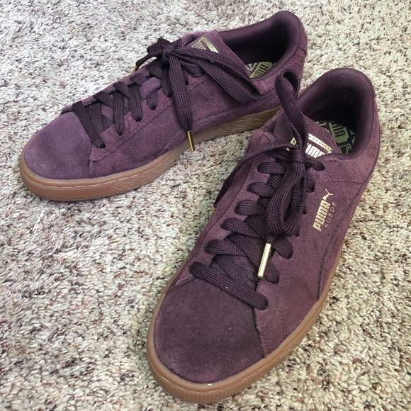 Suede Purple Purple Qrtshd Puma Puma Shoes 3RAjq54L